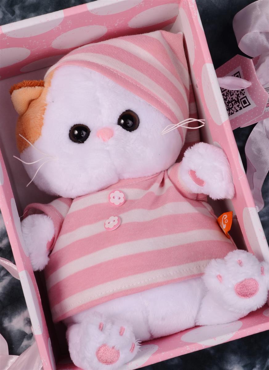 Мягкая игрушка Ли-Ли BABY в полосатой пижамке (20 см)