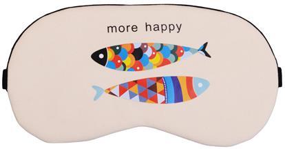 Маска для сна Рыбка разноцветная (пакет)