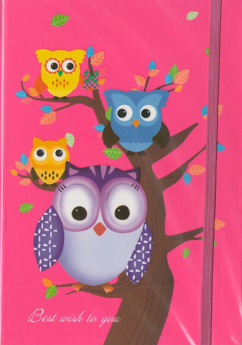 """Книга для записи """"Совы.Owls"""", А5"""