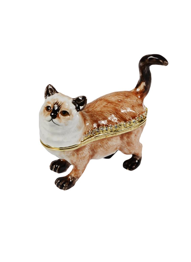 "Шкатулка мет.""Гималайский кот"" (BP2421K1)"