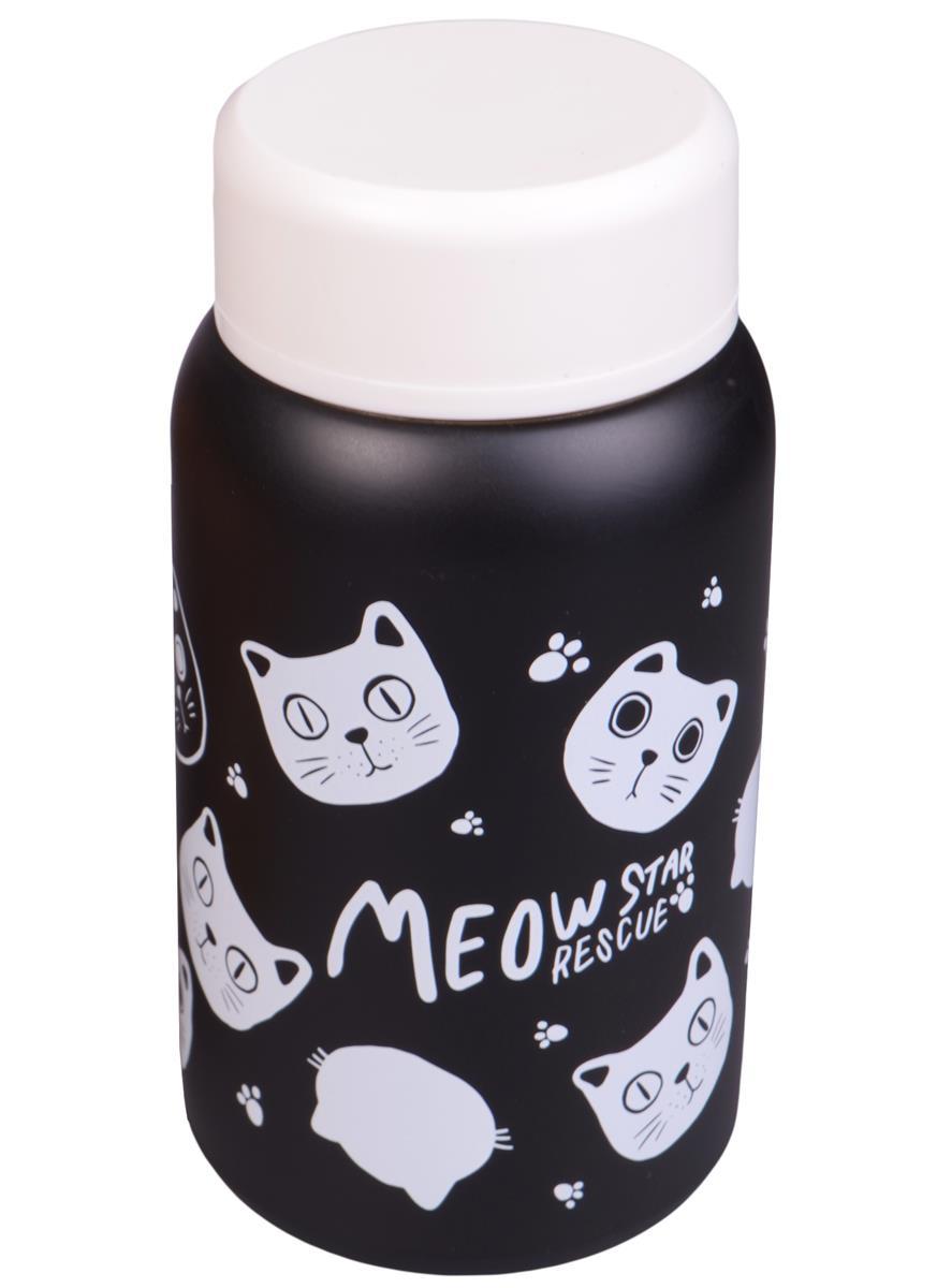 Термос Коты Meow Star (металл) (320мл)