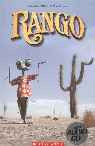 Grisewood E. (edit.) Rango. Level 2 (+ CD) ISBN: 9781906861995 upside down cd cdr by rick sampedro level e