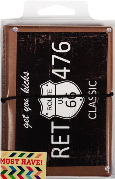 """Автодокументы """"Номерной знак: Ret 476"""", черный"""