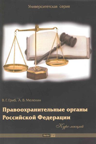 Правоохранительные органы РФ Курс лекций