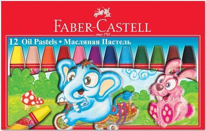 Пастель масляная Faber-Castell, 12 цв.