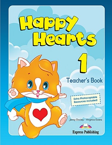 Dooley J., Evans V. Happy Hearts 1. Teacher's Book dooley j anna