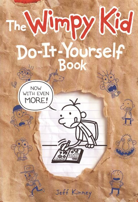 Kinney J. The Wimpy Kid Do-It-Yourself Book the long haul diary of a wimpy kid book 9