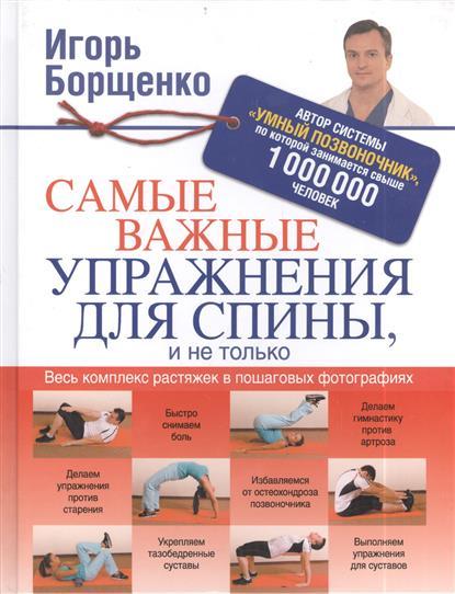 Борщенко И. Самые важные упражнения для спины, и не только массажеры механические тимбэ продакшен массажеры для спины