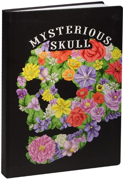 Блокнот Mysterious skull