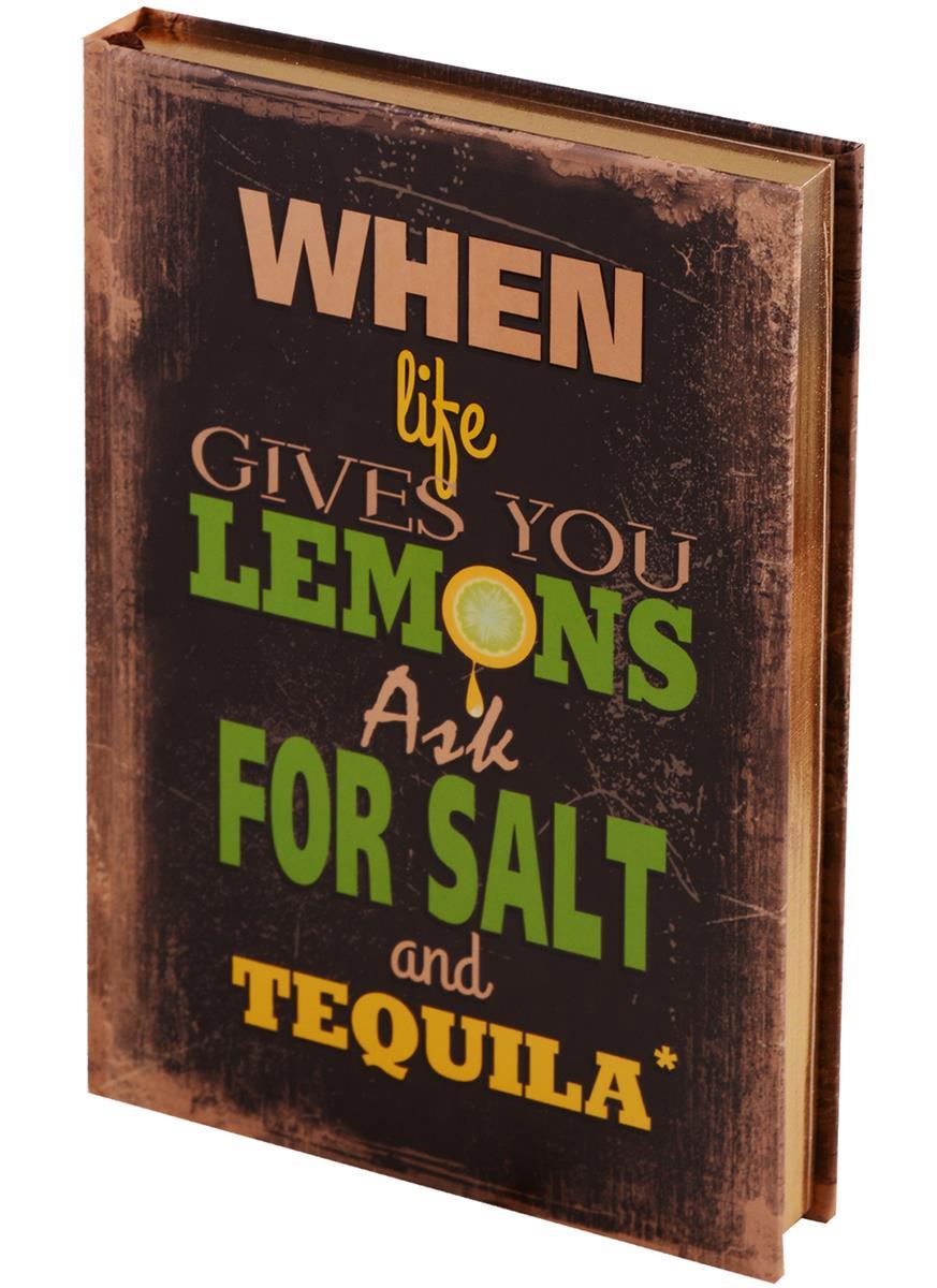 Блокнот Tequila (золотой обрез)