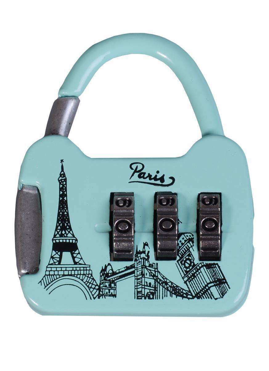"""Замочек кодовый сумочка """"Париж"""""""