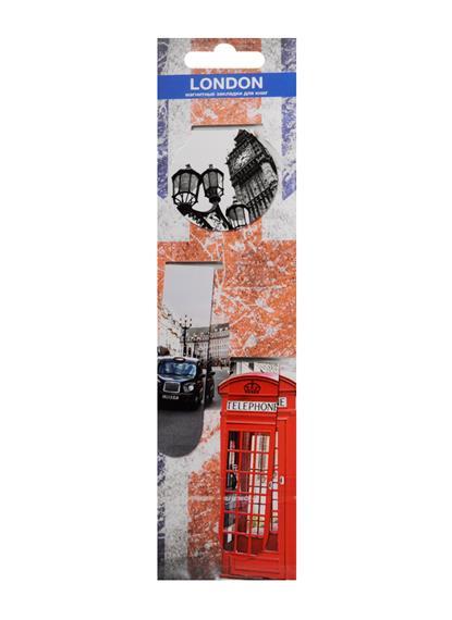 Магнитные закладки Лондон (3 шт)