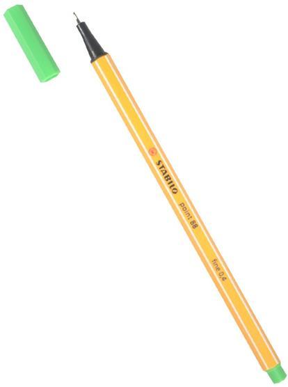 "Ручка капиллярная цвет листвы ""Рoint"" 0,4мм, STABILO"