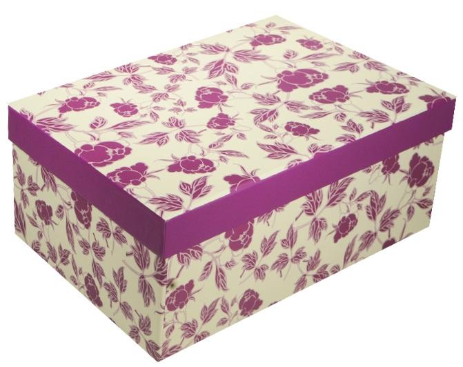 """Коробка подарочная """"Розочки"""" 21*14.5*8.5см"""
