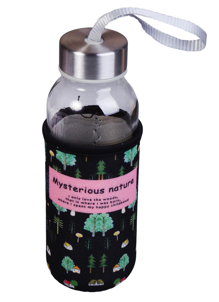 Бутылка в чехле Nature (стекло) (300мл)