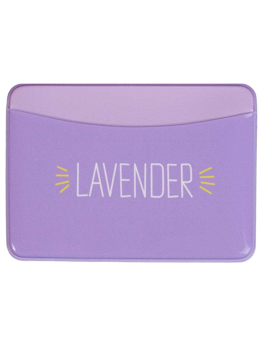 Чехол для карточек горизонтальный Lavender