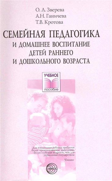 Семейная педагогика и дом. воспит. детей раннего и дошк.возр.