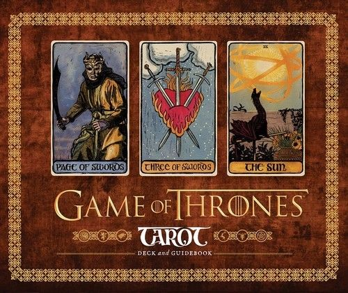 Game of Thrones. Tarot 2016 full english radiant rider wait tarot cards factory made high quality tarot card with colorful box cards game board game