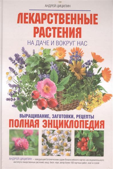 Лекарственные растения на даче и вокруг нас. Выращивание, заготовки, рецепты. Полная энциклопедия
