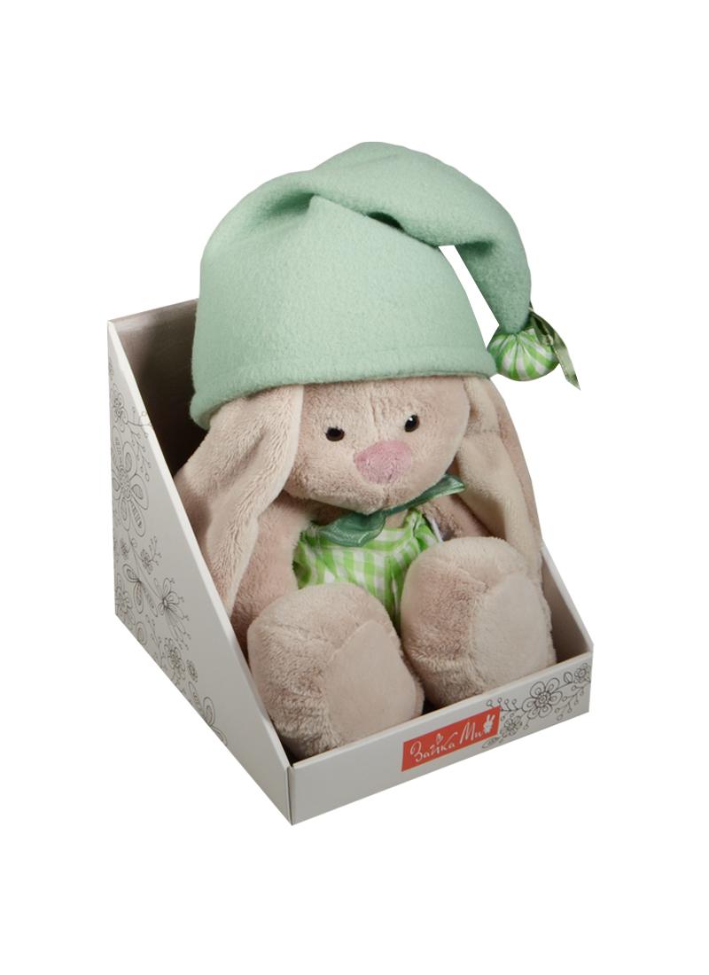 Мягкая игрушка Зайка Ми гномик в зеленом (18 см) (SidS-113)