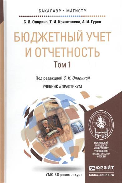 Бюджетный учет и отчетность. Том 1. Учебник и практикум для бакалавриата и магистратуры