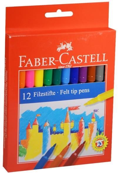 """Фломастеры """"Замок"""", 12 цв., Faber-Castell"""