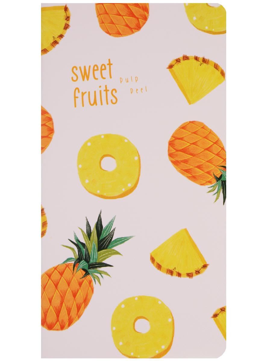 """Записная книжка """"Tropical Fruits"""" А6+"""