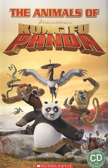 The animals of kung fu panda. Starter level (+ CD) blue fins starter level cd rom