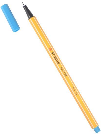 Ручка капиллярная голубовато-бирюзовая