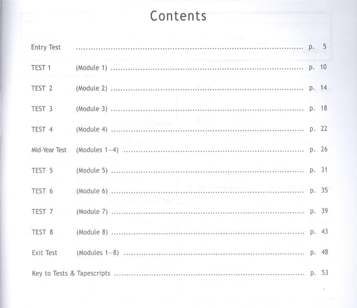 Английский язык spotlight test booklet Контрольные задания  Английский язык spotlight test booklet Контрольные задания 11 класс Базовый уровень Афанасьева О Дули Дж Михеева И Эванс В купить книгу с