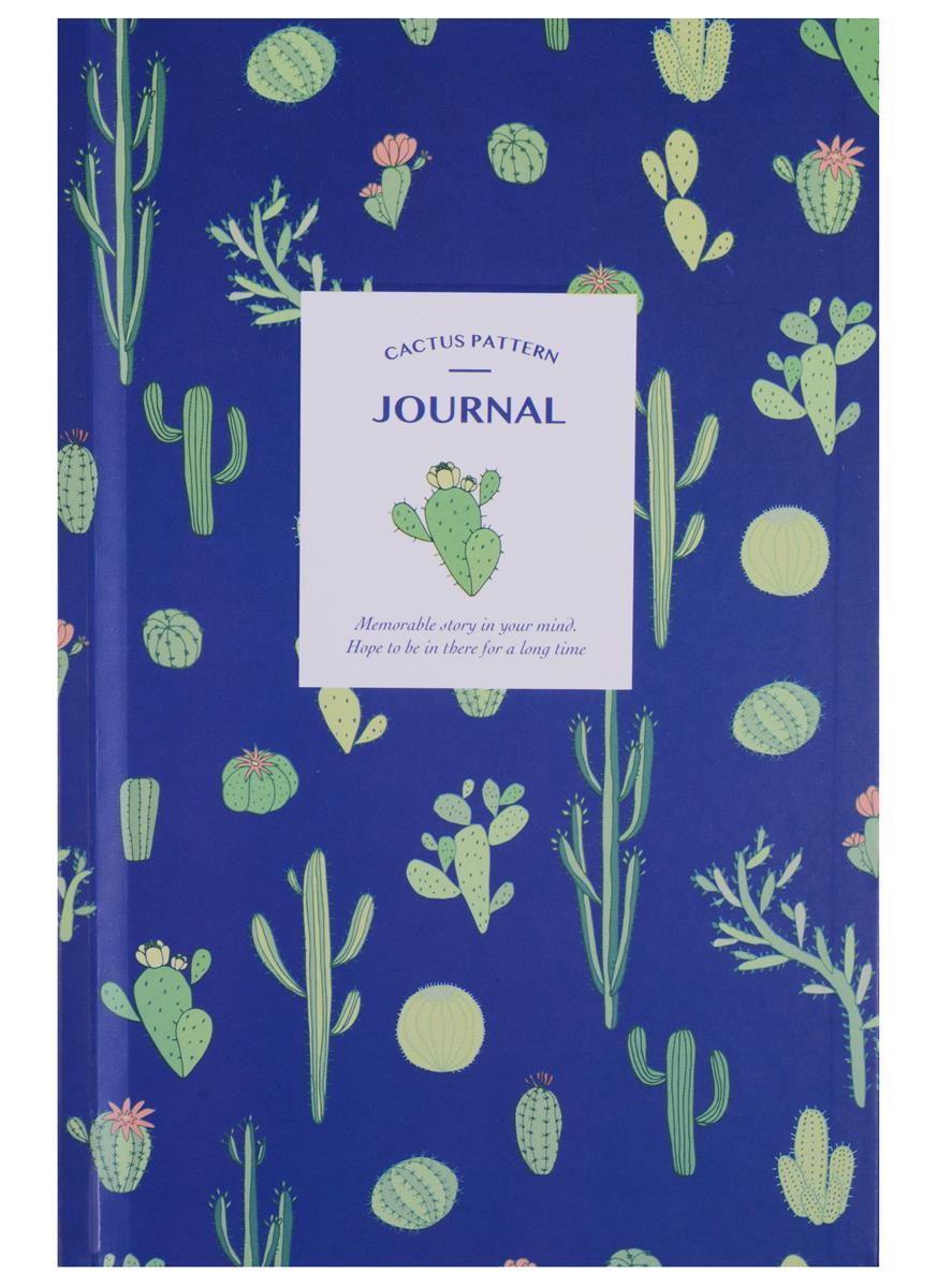 """Книга для записей А5 """"Cactus pattern"""", 80 листов"""