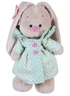 Мягкая игрушка Зайка Ми  в бирюзовом пальто (25 см)