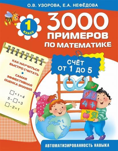 3000 примеров по математике. Счет от 1 до 5. 1 класс. Как научиться быстро считать. Самая эффективная оценка знаний. Автоматизированность навыка