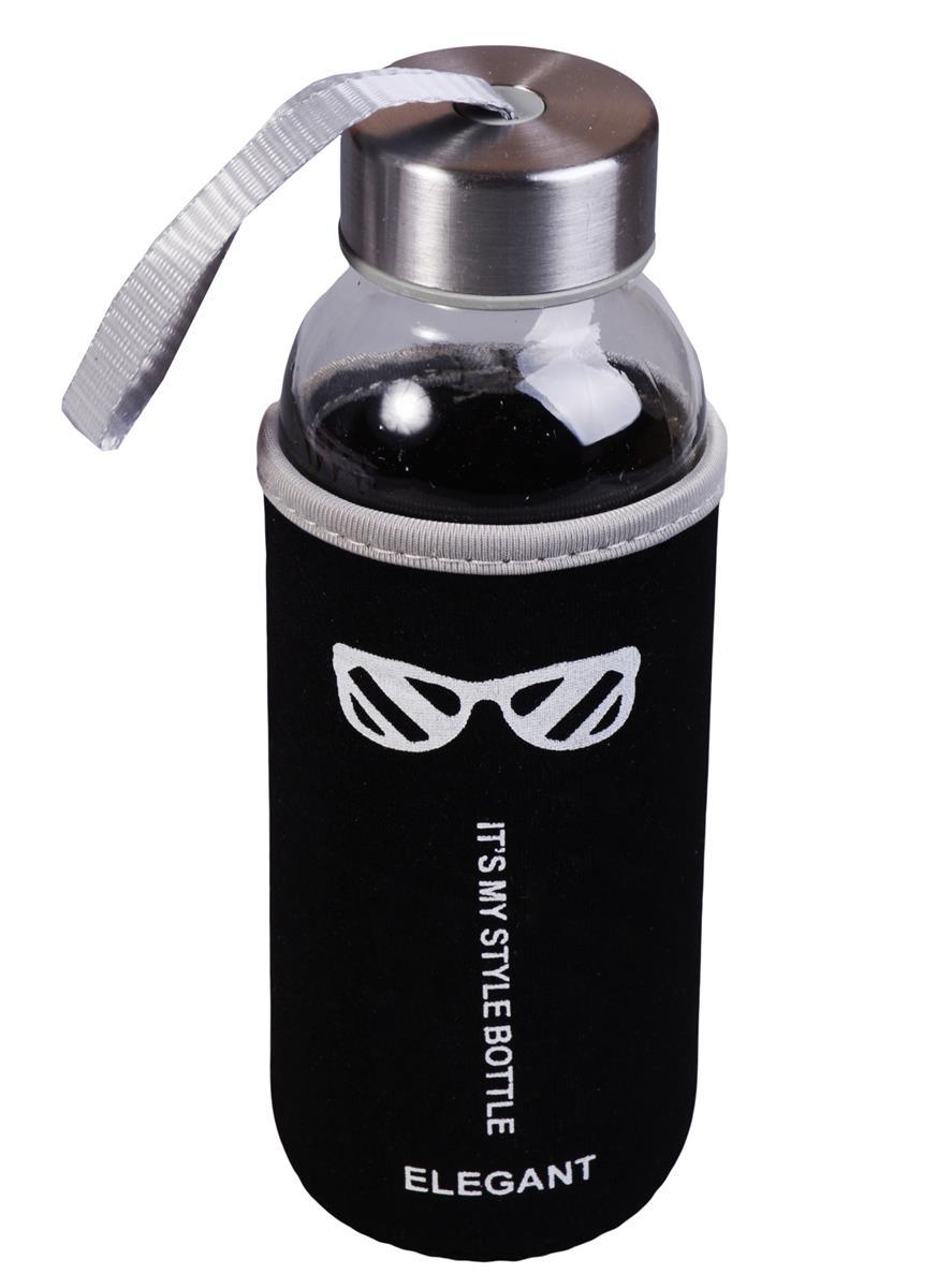 Бутылка в чехле My Style Bottle (стекло) (300мл)