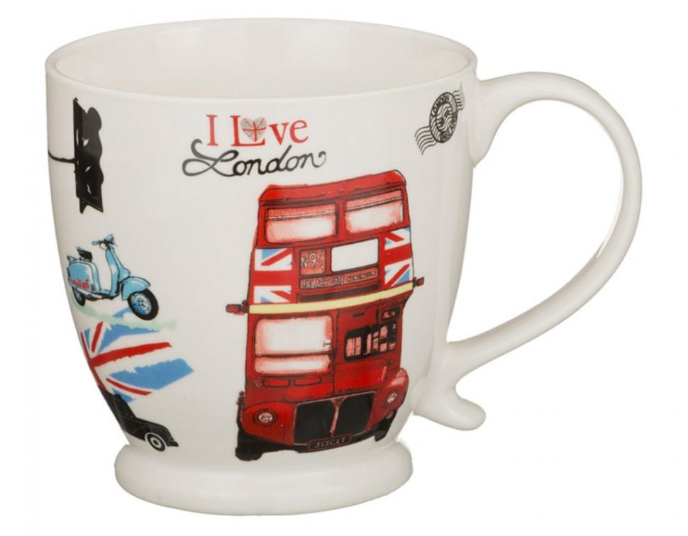 Кружка I love London (500мл) в подарочной упаковке
