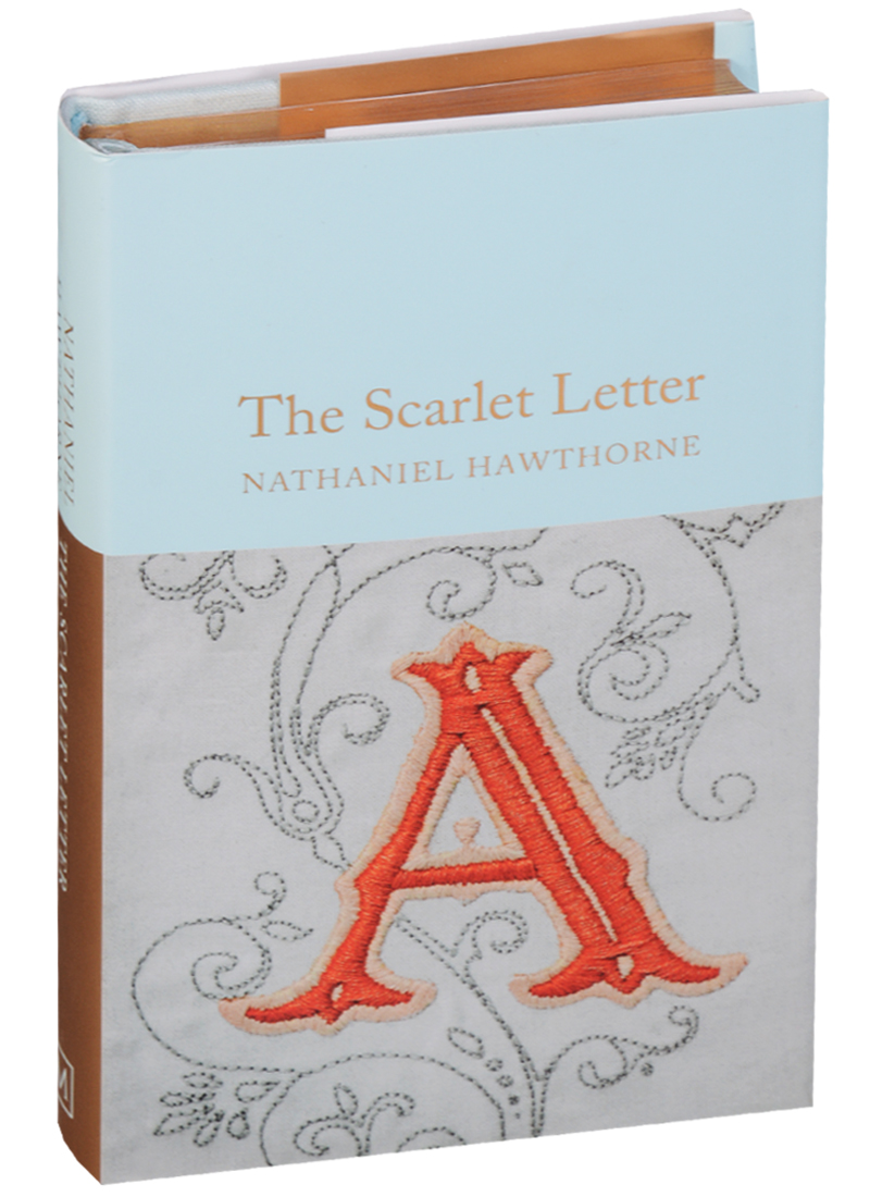 Hawthorne N. The Scarlet Letter letter graphic long tank top