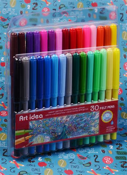 Фломастеры 30 цветов Art idea