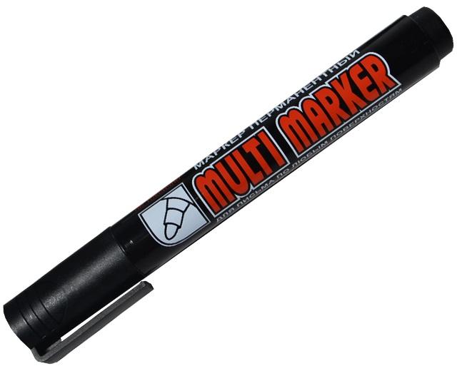 "Маркер перманентный ""Multi marker"" , черный"