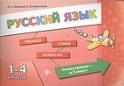 Русский язык. 1-4 классы. Таблицы. Схемы. Формулы