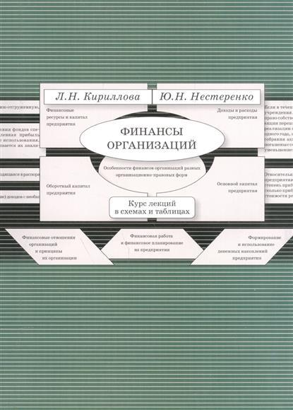 Финансы организации. Курс лекций в схемах и таблицах