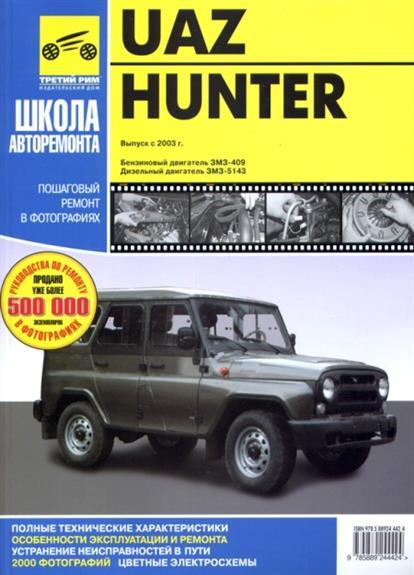 UAZ Hunter в фото.