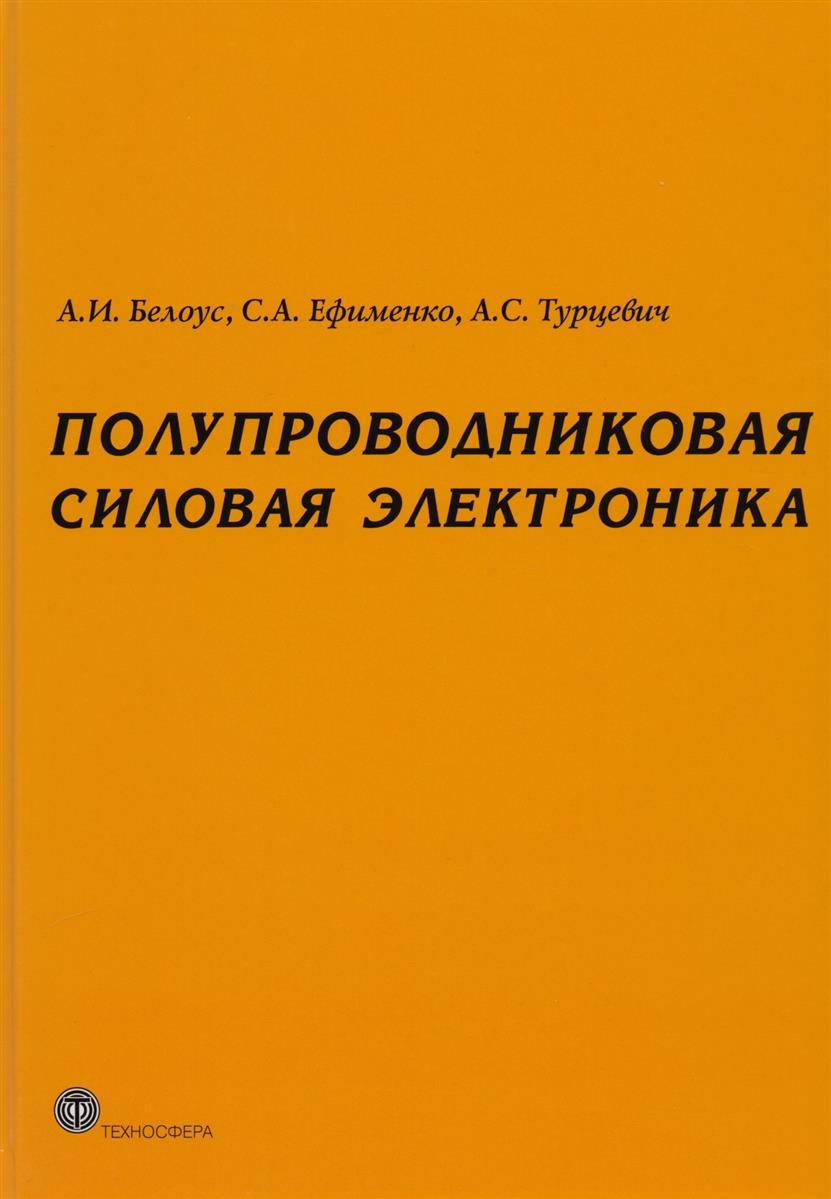 Белоус А., Ефименко С., Турцевич А. Полупроводниковая силовая электроника