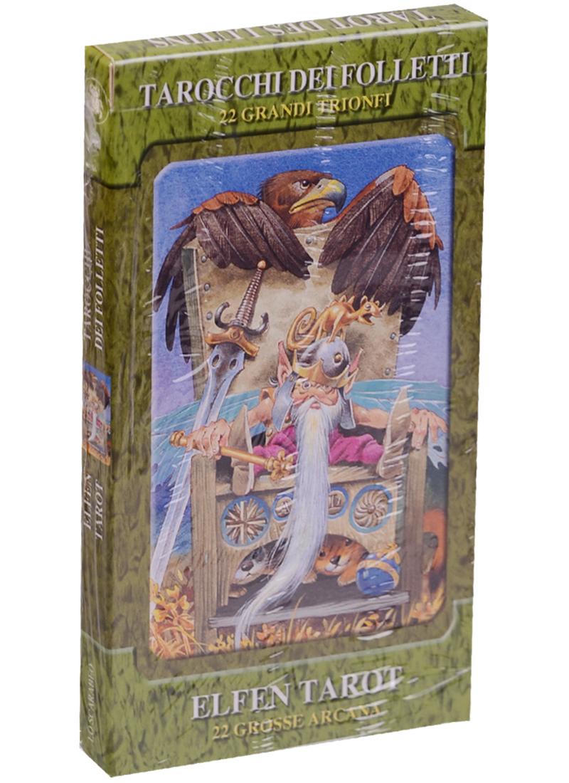 Elfen Tarot/ Таро Сказки леса лак для ногтей orly permanent collection 674 цвет 674 crush on you variant hex name f68a1e