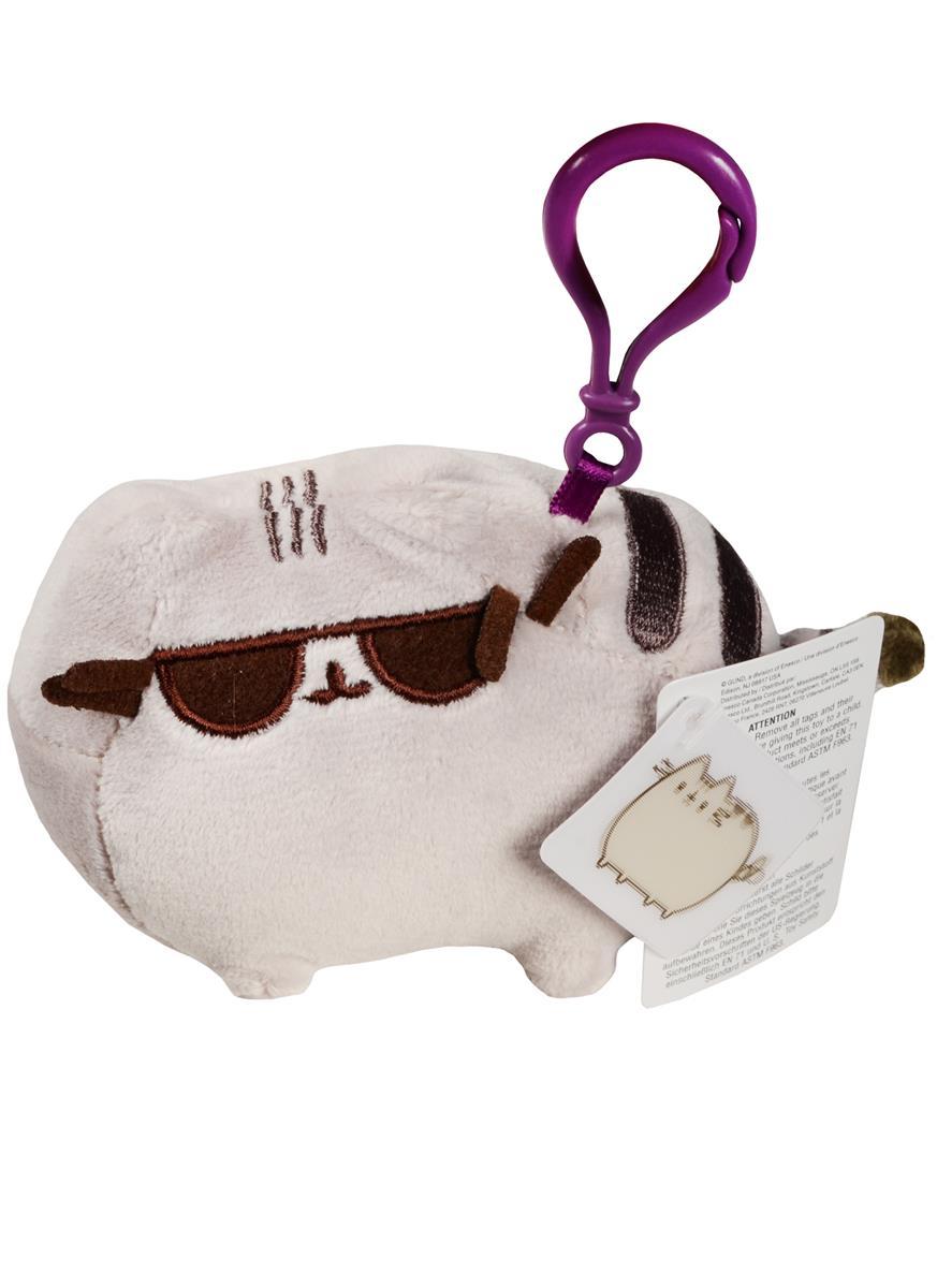 Котик Pusheen в солнечных очках брелок