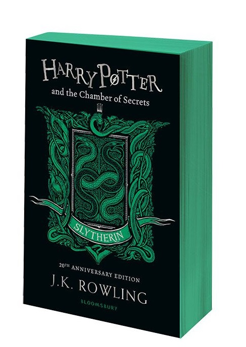 Rowling J. Harry Potter and the Chamber of Secrets. Slytherin rowling j k harry potter and the prisoner of azkaban in reading order 3
