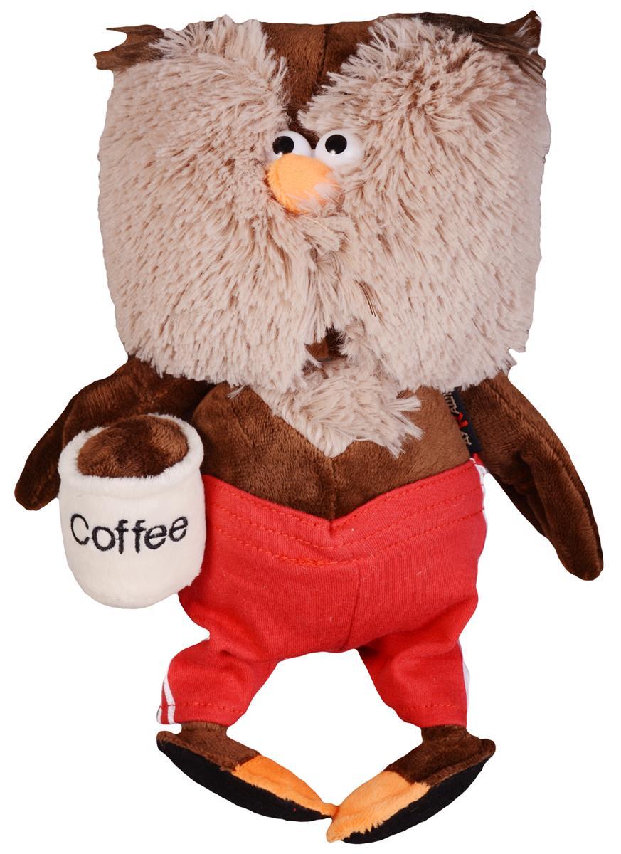 Мягкая игрушка Сова & Coffee (25 см)