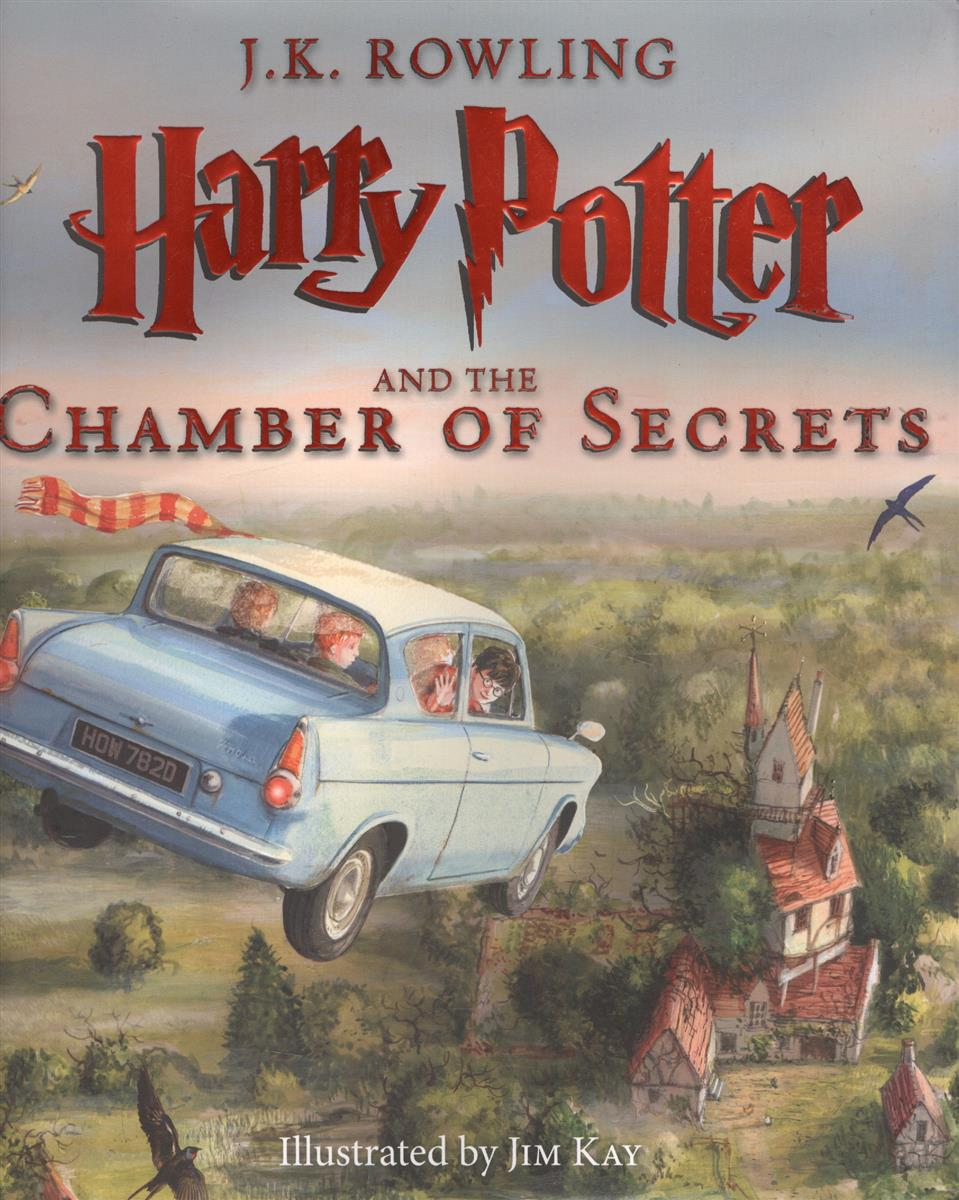 Rowling J.K. Harry Potter and the Chamber of Secrets rowling j harry potter a history of magic