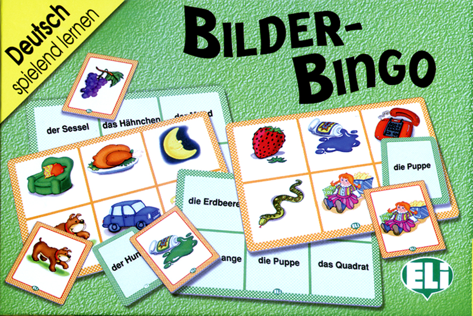 Games: [A1-A2]: Bilder-Bingo ISBN: 9788881483075 vocabulario elemental a1 a2 2cd