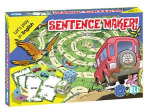 Games: [A2-B1]: Sentence Maker! games preguntas y respuestas a2 b1