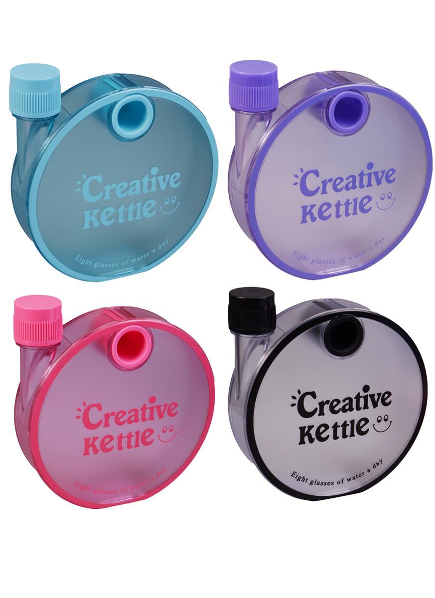 Бутылка-фляжка Creative kettle (пластик) (350мл)
